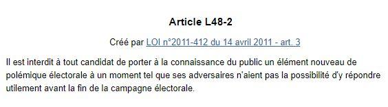 Article L48-2 du code électoral