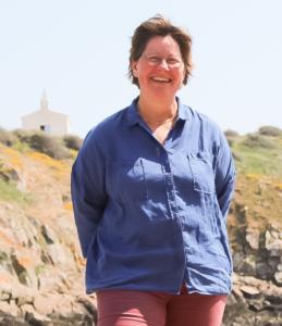 Hélène Gaborit, candidate aux départementales 2021 - canton de l'Ile d'Yeu