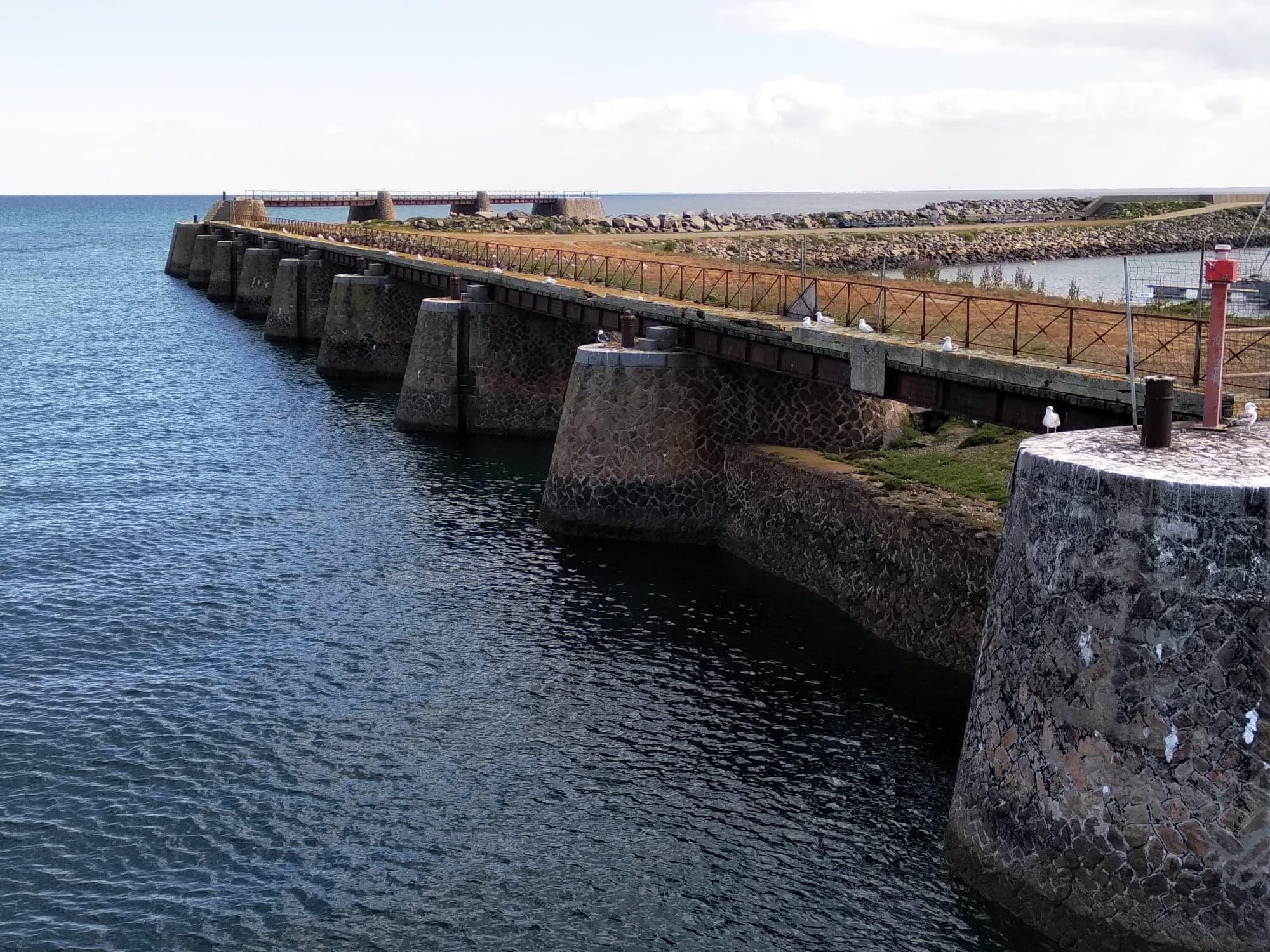 L'estacade de Port Joinville